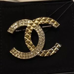 Brand new Chanel crystal  large brooch